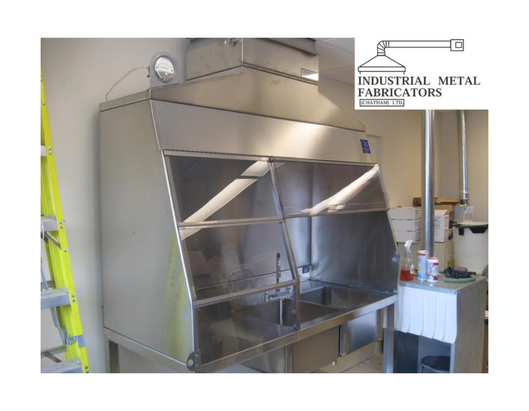 Custom Fabrication – Laboratory Fume Hood