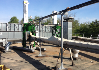 Pneumatic Conveying – Dense Phase Conveying for Roofing Product