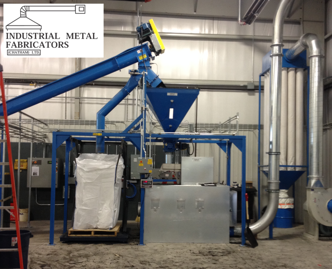 Pneumatic Conveying – Powderized Rubber Conveying