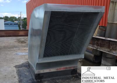Custom Fabrication – Exhaust Muffler w/ Birdscreen