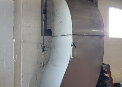 Custom Fabrication – Ventilation for Heat Removal From Plant (Two Lines)