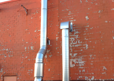 Industrial Ventilation – Outside Fan/Blower Noise Enclosure & Roof Exhaust