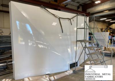 Custom Fabrication – Large Exhaust Hood