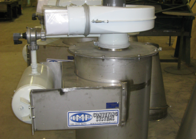 Custom Fabrication – Stainless Steel Dust Collector Unit for Acidic Dust Application