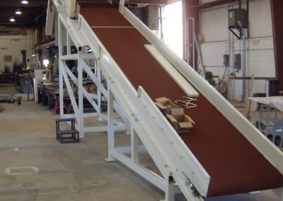 Custom Fabrication – Belt Conveyor w/ Magnet