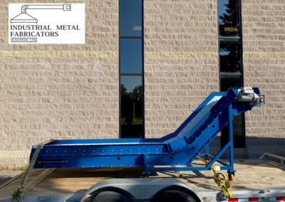 Custom Fabrication – Gooseneck Belt Conveyor