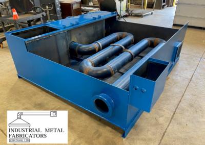 Custom Fabrication – Custom Acid Rinse Tank
