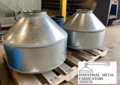 Custom Fabrication – Heavy Duty Cyclones