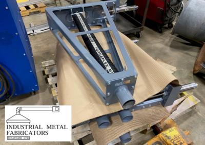 Custom Fabrication – 3″ Hose Style Diverter