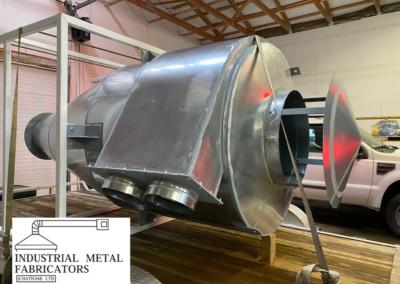Custom Fabrication – Dual Inlet Cyclone