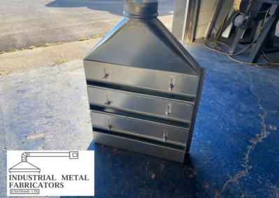Custom Fabrication – Adjustable Slotted Hood